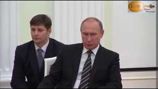 Башар Асад и Владимир Путин  Встреча в Москве 20 10 2015