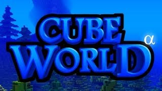 CUBE WORLD - Testando o Game!