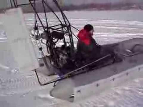 Аэроустановка на лодку своими руками