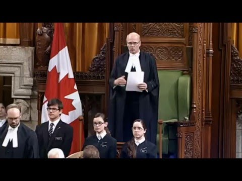 Justin Trudeau / Prime Minister Apology For Manhandling Canada Parliament MPs