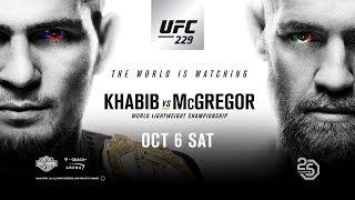 Persconferentie UFC: Khabib vs. McGregor