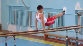 Урок гимнастики. Польщиков В. В. СШ№2 пос. Шахан