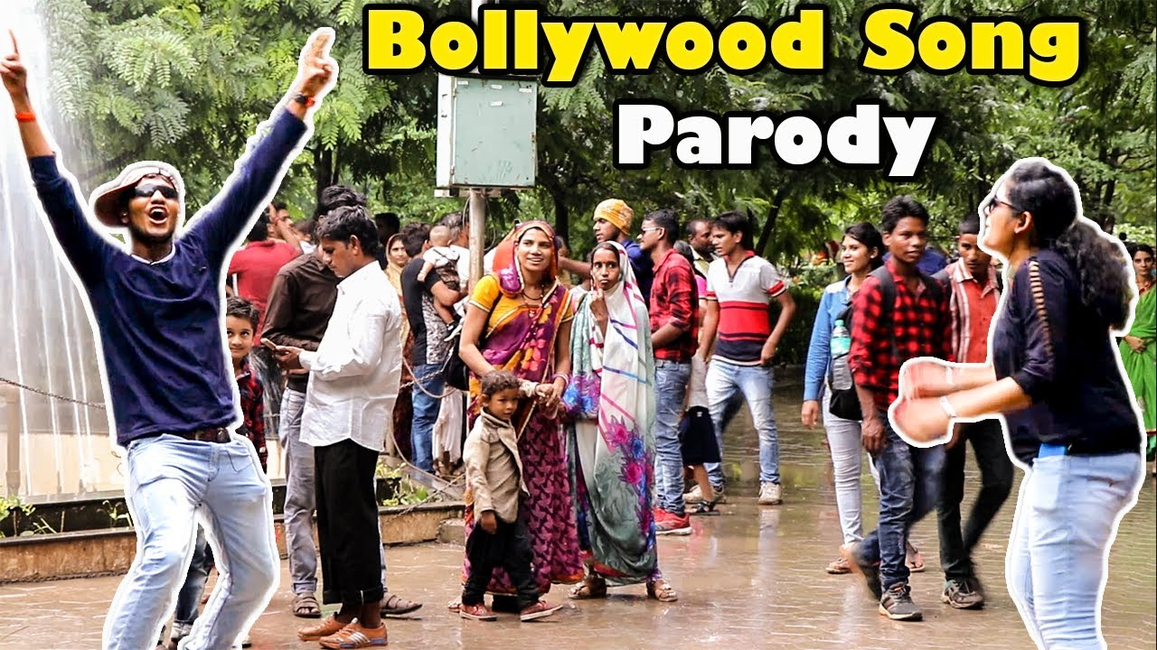 Dancing Hilariously in Public | Bollywood Dance Prank | Qpark India