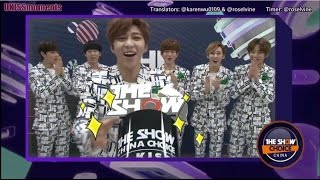 [ENG SUB] 150303 U-KISS - THE SHOW China Choice Win