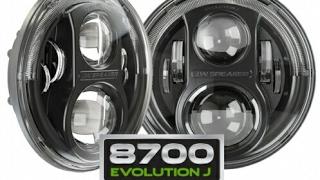 installing jw speaker 8700 evolution j led headlights in a jeep wrangler jk