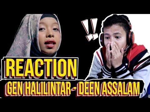 DEEN ASSALAM Cover by GEN HALILINTAR [REACTION] - #Pulkam