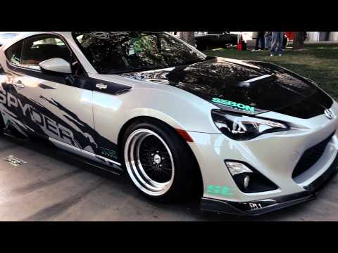 Spyder Auto Scion FR-S Build for SEMA 2014