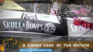 hbbc skull bones downtown cuiser bike 2017