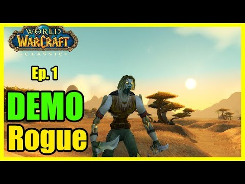 We're home. Demo Ep #1 [Classic World of Warcraft Demo Let's Play]