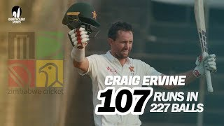 Craig Ervine's 107 Against Bangladesh | Only Test | 1st Innings | Zimbabwe tour of Bangladesh 2020