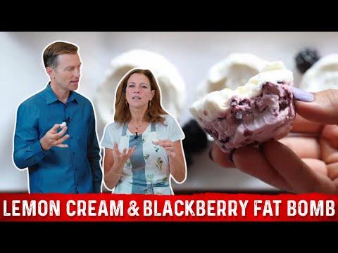 Lemon Cream And Blackberry Fat Bomb