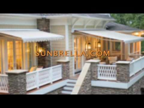 Sunbrella Extend Your Outdoor Space With An Awning Youtube