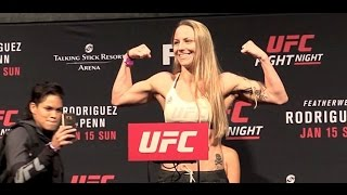 Nina Ansaroff Used Amanda Nunes' Momentum  (UFC Phoenix Post)
