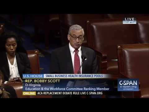 Ranking Member Bobby Scott: Speaks Against Shifting Costs to Workers