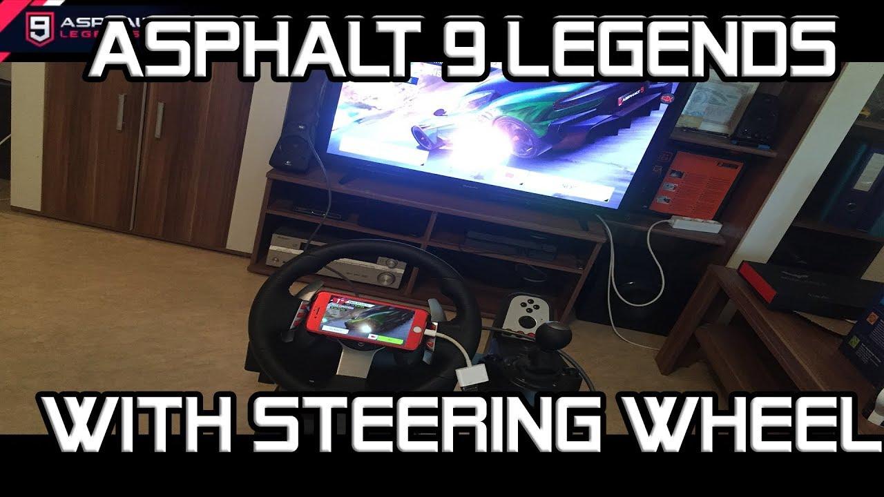 Playing with Steering Wheel 🔥🔥🔥 | Asphalt 9 Legends Database