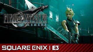 Final Fantasy VII Remake - Gameplay Reveal Demo | Square Enix E3 2019