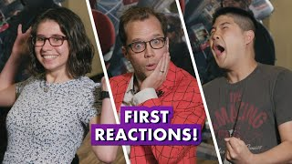 Marvel Employees React to Spider-Man: Far From Home!