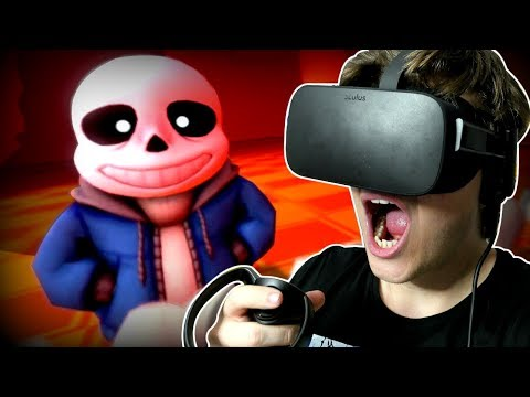 GENOCIDE SANS FIGHT... IN VIRTUAL REALITY!! | Undertale in VR (Undertale Virtual Reality)
