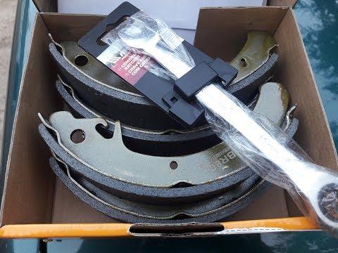 ВАЗ 2109 - замена задних колодок + полезный ключик