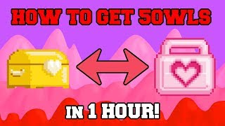 GrowTopia - HOW TO GET INSANE RICH on NEW UPDATE?! (Valentine's Week 2018)