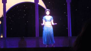 """""""To Be Free"""" from Aladdin the Musical in DCA"""