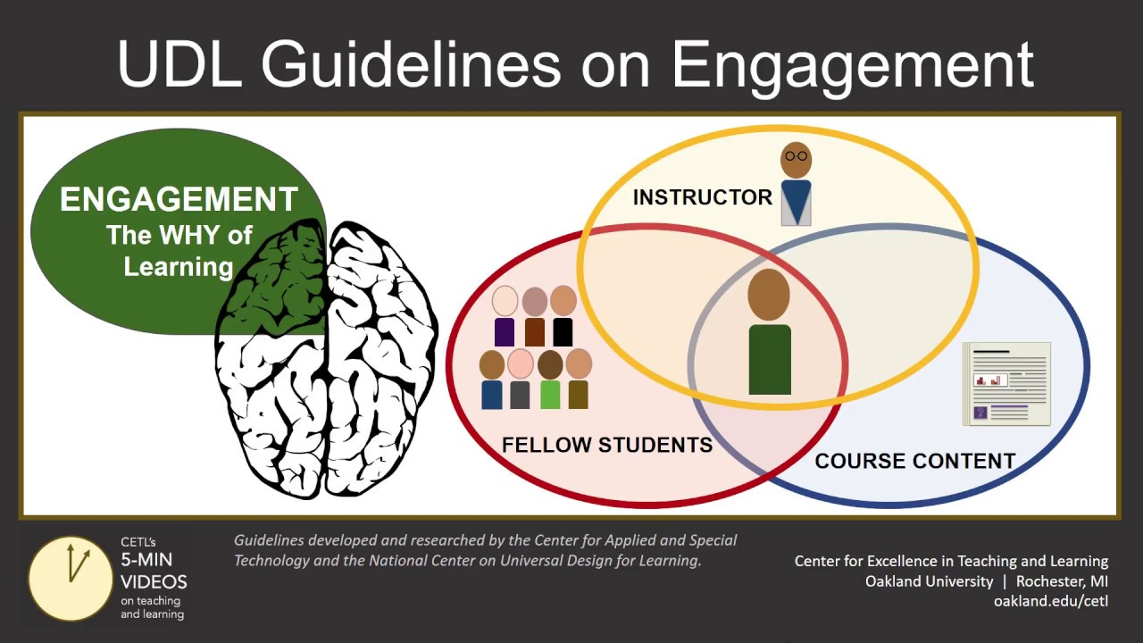 Universal Design For Learning Part 3 Engagement Strategies