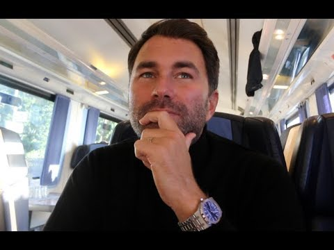 'IM JUST RELENTLESS' -EDDIE HEARN GOES DEEP ON WHERE IT ALL STARTED & RELATIONSHIP w/ ANTHONY JOSHUA