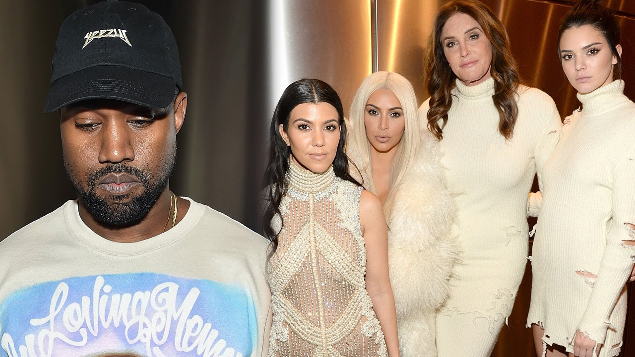 7db783ac452cb Kardashians   Jenners Stun at Kanye s Yeezy Season 3 NYFW Show - YouTube