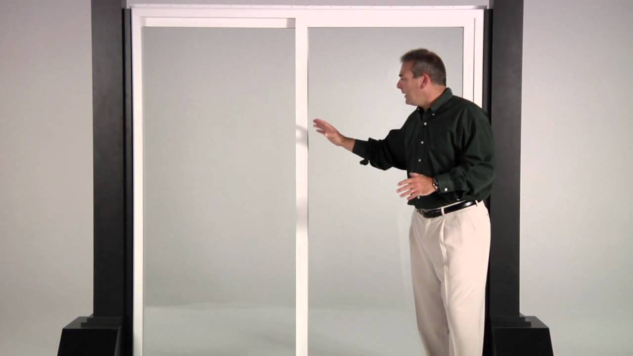 Reliabilt 300 Series Vinyl Patio Doors Youtube