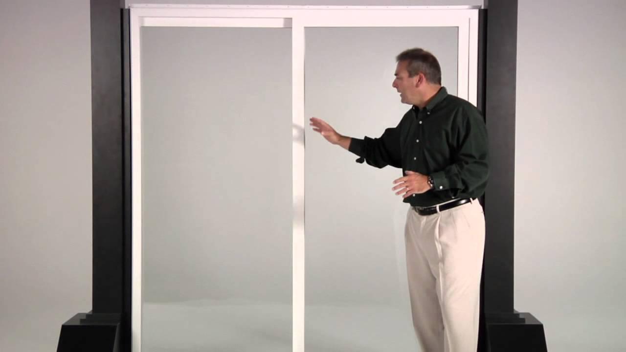 Reliabilt 300 Series Vinyl Patio Doors Youtube