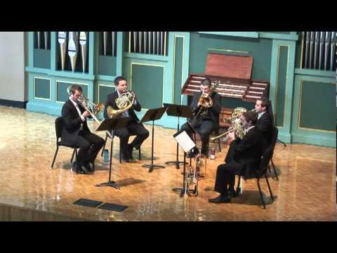 Third Street Brass Quintet Recital - Midwest Trumpet Festival - Part 1