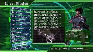 Earth Defense Force 4.1 Lets Play Part 8 Regicide