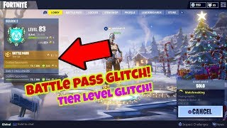 Fortnite Battle Royale Glitch (New) Battle pass level PS4/Xbox one 2018