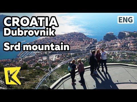 【K】Croatia Travel-Dubrovnik[크로아티아 여행-두브로브니크]스르지산에서 본 두브로브니크/Srd mountain/Observatory/Cable car