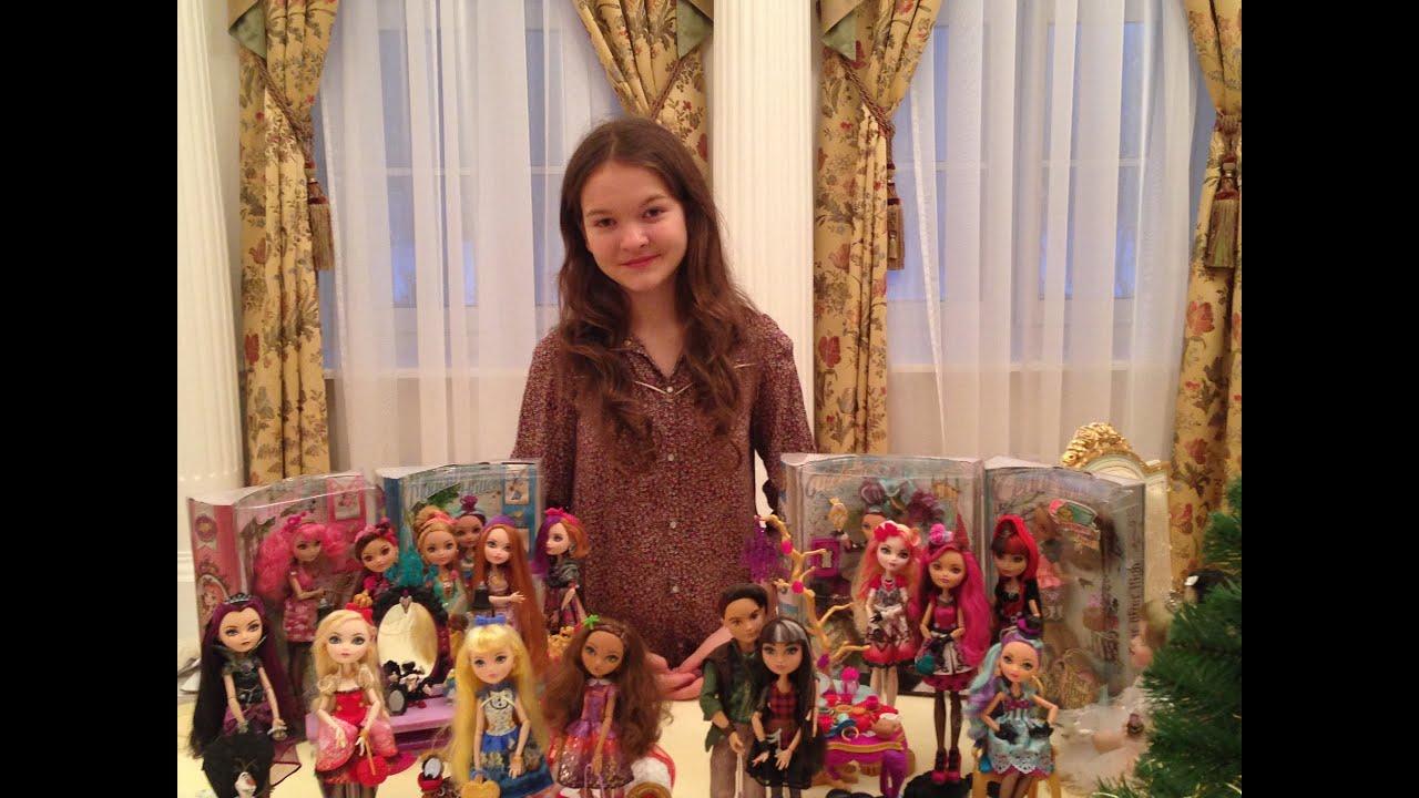 Куклы коллекция монстер хай видео