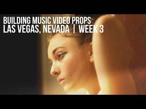 VLOGGIN' | BUILDING MUSIC VIDEO PROPS / Las Vegas WEEK 3