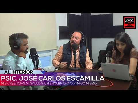 Jose Carlos Escamilla. TEMA: Mis creencias mi salud y un encuentro conmigo.