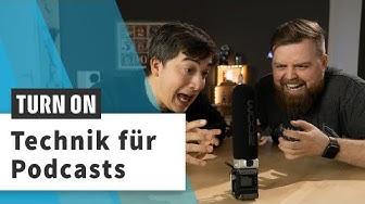 Podcast-Equipment: Das nutzen Jens und Meru