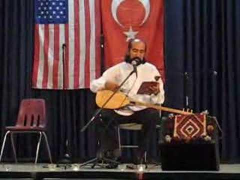 Latif Bolat at Monterey Turkish Culture Night