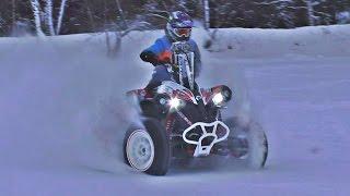 Brp Renegade 1000 Тест-Драйв Квадроцикла