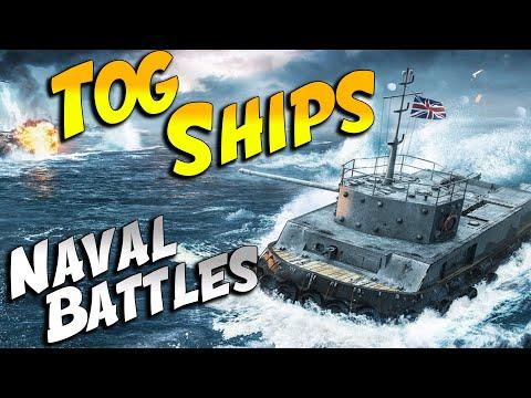 TOG 2 BATTLESHIPS GAMEPLAY (World of Tanks April Fools)