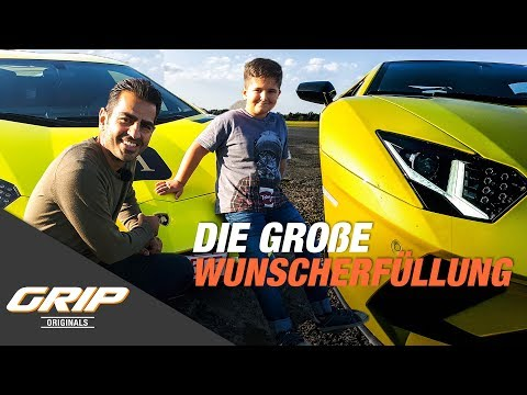 Die große Wunscherfüllung:  Lamborghini Aventador S I GRIP Originals