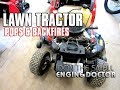 Fixing A Lawn Tractor That Pops & Backfires!