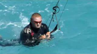Бодидраг - плавание за кайтом