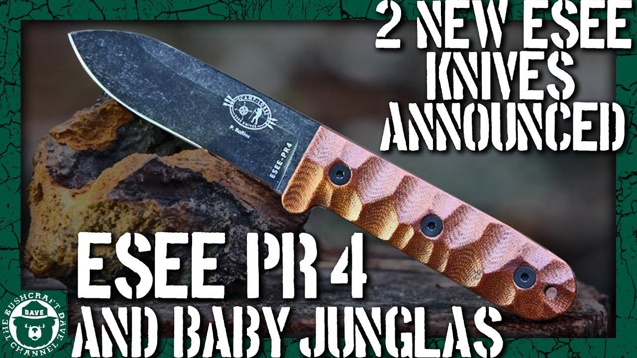 esee new knives for blade show 2017 pr4 kephart inspired and