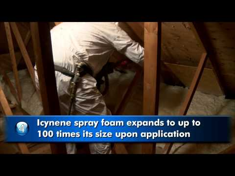 Spray Foam Insulation: Icynene  Attic Insulation Video #6