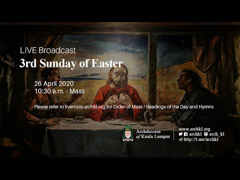 Mass - 3rd Sunday of Easter