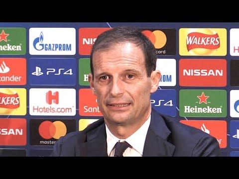 Massimiliano Allegri Pre-Match Press Conference - Manchester United v Juventus - Champions League