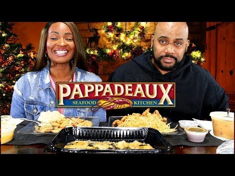 PAPPADEAUX MUKBANG! SHRIMP & CRAWFISH FONDUE, FRIED ALLIGATOR, LOBSTER BISQUE, & CRAB FINGERS!