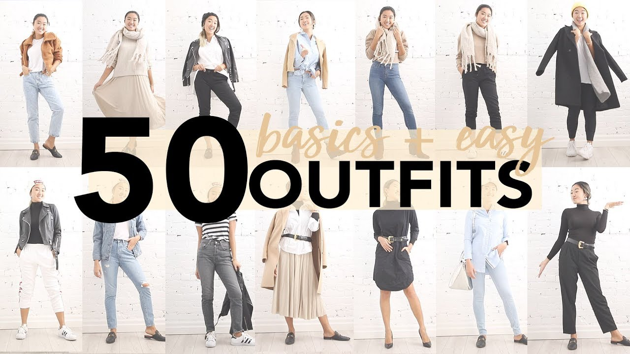 50 EASY OUTFIT IDEAS (Using Basics) 7